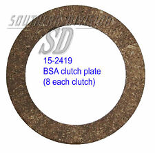 BSA M20 15-2419 Kupplungsbelag, clutch plate 40th one spring clutch