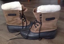 KAMIK CANADA LADIES WINTER WOOL LINED SNOW BOOTS MUKLUKS DUCK HUNTING 7 M