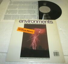ENVIRONMENTS #4 LP NM US VINYL RELAXATION THERAPY RAIN & THUNDERSTORM IN SHRINK