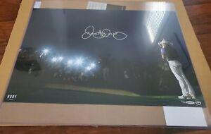 "RORY McIlroy Autographed ""Spotlight"" UDA LE 25"