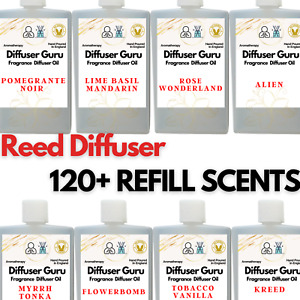 Reed Diffuser Oil Refill - Fine & Designer Fragrances Highly Potent 50ml