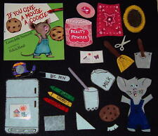 If You Give a Mouse a Cookie Felt / Flannel Board Story Set