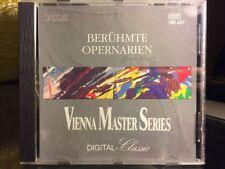 Beruhmte Opernarien - Vienna Master Series NM PIZ GERMANY CD 160 237 DIGITAL