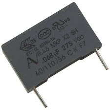 5 KEMET r46ki26800001m MKP-Radio entstörkondensator 275v 68nf rm15 856645