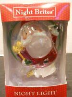 night brites Night Light santa claus christmas holiday swivel base winter