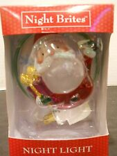 night brites Night Light santa claus christmas holiday swivel base winter