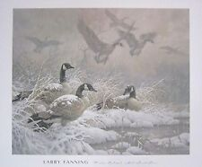 "Larry Fanning ""Winter Retreat"" Geese Posters - Lot of 135!"