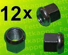 12x Kugelbundmutter M18x1,5 DIN 74361 A verz. Radmutter - Kugelbundmuttern