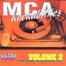 MCA ROCKABILLIES Volume 2 (2CD) Double CD 1950s Rockabilly Rock 'n' Roll NEW