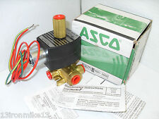 "NEW ASCO EFX8317G03513600 3-Way NC EXPLOSION PROOF SOLENOID VALVE 1/4"" 24Vdc NIB"
