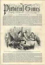 1847 The Widow Of Napoleon Archduchess Maria Louisa Engraving