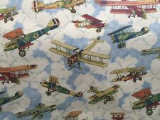 T&E Inflight Crayon Airplane Fabric
