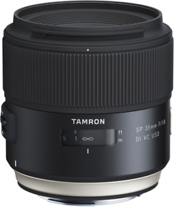 New Tamron SP 35mm f/1.8 Di USD Lens for Sony A F012S