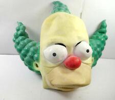 Simpsons Clown Krusty Masque de Latex 1998 pour les Adultes Halloween (K93)