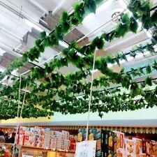 Wedding Ivy Leaf Artificial Garland Decor Home Foliage Fake Flowers Plants