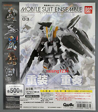 BANDAI Gundam Ensemble 03 Gashapon Figure Set of 5 Hazel Custom Zeta Acguy