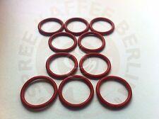 10 x O-Ring für den Kolben der DeLonghi Brühgruppe 35x4