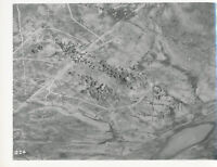 1940s WWII USAAF 47th Bomb Gr Photo No224 Airplane Bombing Run La Fauconnerie NA