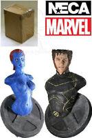 Wolverine & Mystique Neca  Marvel Exclusive X-Men Mini Bust Set