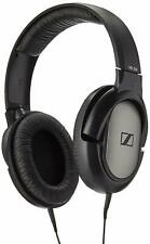 Sennheiser HD 206 Stereo Headphones Earphones Over Ear Black Silver UK Stock