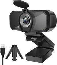 Full HD 1080P Webcam Privacy Cover Tripod USB Web Camera Microphone