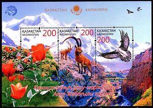 2016. Kazakhstan. Aksu-Zhabagly reserve. MNH. S/sheet