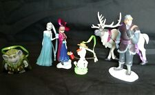 Disney Frozen Christmas Ornament set of 6 Elsa Anna Olaf Sven Pappy