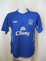 FC Everton 2005/2006 home Size XL Umbro football shirt jersey maillot soccer