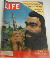 Life Magazine The Epic Of Man Stone Age Surviors Part I November 1955 072214R1