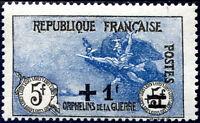 "FRANCE N° 169a NEUF* Variété ""IMPRESSION FINE EN NOIR ET BLEU, 1er TIRAGE"" SIGNÉ"