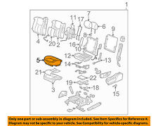GM OEM Front Seat-Cushion Bottom Cover Left 19299556