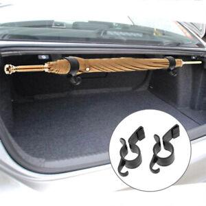 2X Car Trunk Umbrella Hanger Bag Fixing Hook Auto Parts