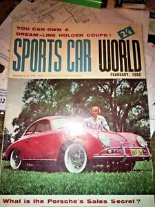 February 1960 Sports Car World Porsche 356A Holden dream car