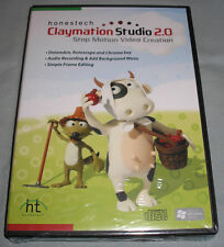 Honestech Claymation Studio 2.0 - Windows PC Computer Software Academic 50-User!