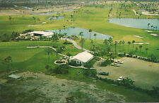 Old postcard Golf Course and Club House, Cape Coral, FL