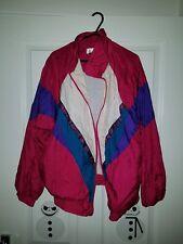 Vintage/retro/ Old School Shell Suit Jacket Size Large