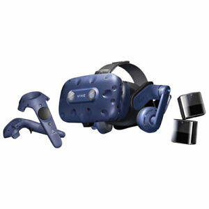HTC VIVE Pro VR Headset Full Kit with Sensors and Controllers