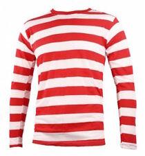 Ropa de hombre blancas color principal rojo 100% algodón