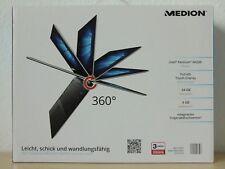 "Medion 360° Notebook Akoya E3216 Laptop Tablet Intel Pentium N4200 13,3"" MD61800"