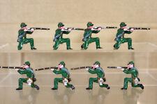 Miniature trofeo di guerra civile americana 8 SOLDATI Dell'Unione inginocchiato che spara pjm