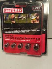 Craftsman Bolt Out Damaged Bolt/Nut Remover Set 952160