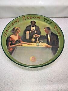 Harvard Brewing Company, Harvard Export Beer Vintage Tray LOWELL MASS AMERICANA