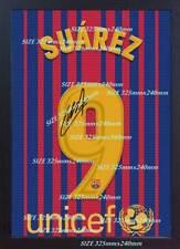 Luis Suarez t shirt Barcelona signed poster photo Print CANVAS100%cotton FRAMED