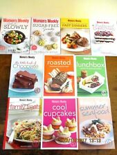 ~10 x MINI COOKBOOKS by The Australian Women's Weekly - SUGAR-FREE ++++-ALL VGC~