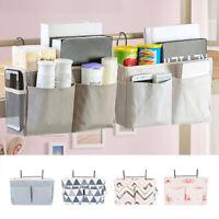 Bed Bedside Storage Organiser Holder Tidy Hook Cabin Shelf Bunks Pocket Chair S1