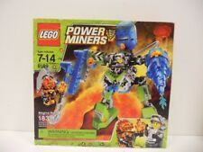 Lego Power Miners Magma Mech (8189) NIB  Firax Rock Monster