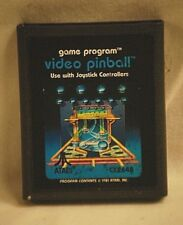 Vintage 1981 Video Pinball Atari 2600 CX2648 GAME CARTRIDGE ONLY Untested