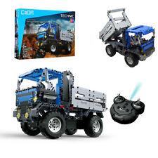 Wagen 2in1 LKW Spielzeug RC Ferngesteuert Auto Bausteine 638 Teile Geschenk