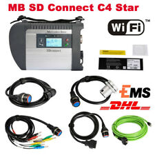 New MB SD C4 Connect Compact 4 Star Diagnosis with WIFI for Cars and Trucks