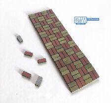 Freedom Man 1/35 diorama accessory set No-3502001, curve ground brick